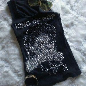 *CUTE* Kids' Michael Jackson Bedazzled top!